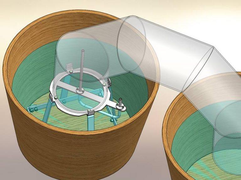 Patentzeichnungen Sonderanlagen Konstruktion 3D Modell Zeichnung