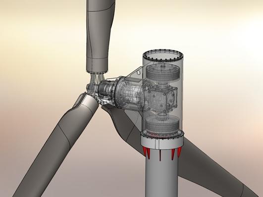 Kurbelfähre Patentzeichnungen Sonderanlagen Konstruktion 3D Modell Zeichnung